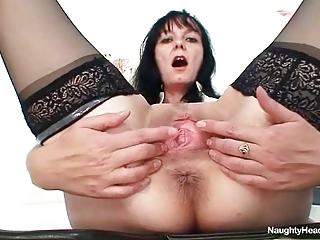 horny granny milf doctor had nice giant boobs