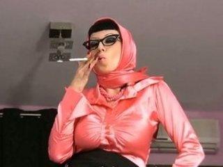 dirty talking smoking woman