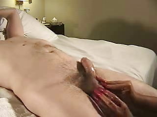 terrific older handjob - magic hands (+cumshot)
