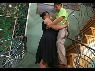 large plump lady seduces brooke man to copulate