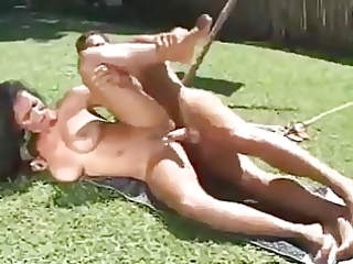super lady takes an ass pounding from her neighbor
