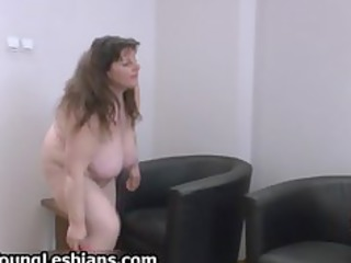 naughty grownup babe with giant chest takes part5
