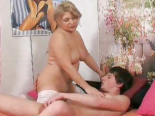 elderly seduces her fresh fucker 36