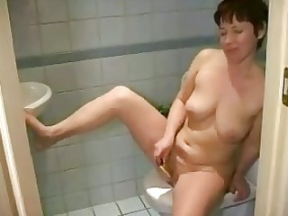 rehead desperate older masturbating shaved cave