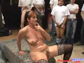 bukkake woman scene