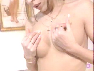 german amateur has to show breast in ca