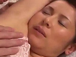 busty milf with tied arms tasted fingered