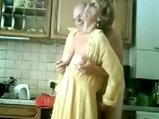 granny takes fingered by her elderly male
