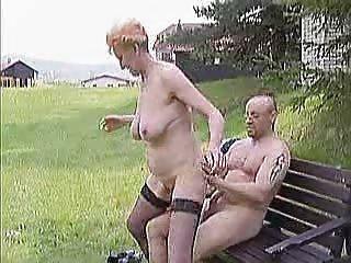 elderly open-air