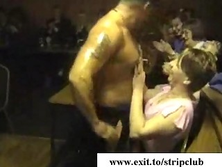 naughty sex partners attacking dicks in stripper