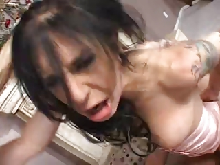 slutty and sexy mom takes strong drilled