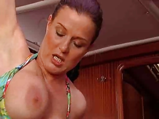 lovely mature babe and bald man r fucking .oops