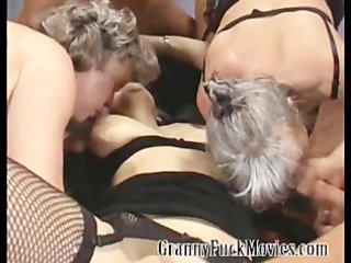 grandma in hardcore bunch pierce celebration