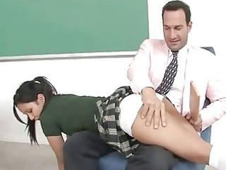 girl serves a grownup libido