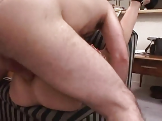 wonderful albino milf analed