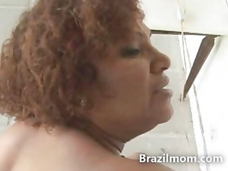 brazilian bottom mature babe pierced difficult by