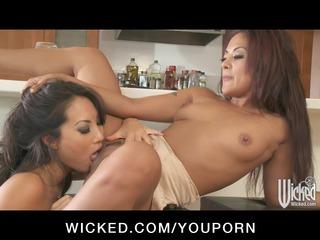 horny eastern butt fucks japanese dike housewife