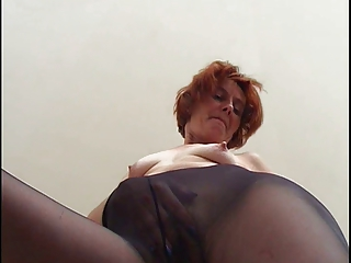 stockings elderly reveals the kickers