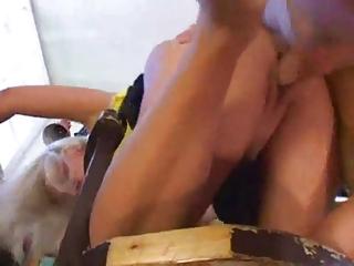 older slut fuck young boy