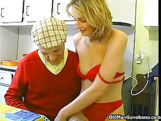 papy seduces neighbors slut