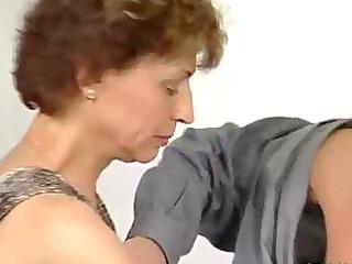 inflexible penis for grown-up german angel