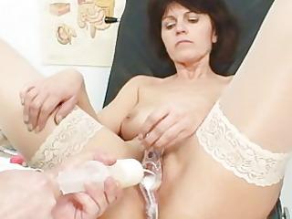 elder wife weird speculum pussy examination