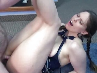 busty natasha is taking cock into her mature