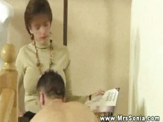 domina adores her subjects attention on her older