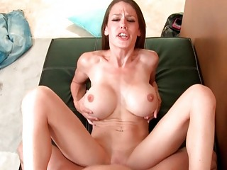 inexperienced seductive bitch woman gives