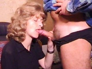 older inexperienced lady dick sucking with sperm