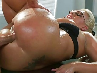 enormous tits lady sadie swede oily butt drilled