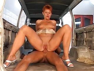 cougar anal drilled