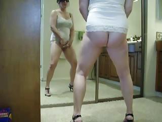 sweet stolen video of my woman dildoing inside