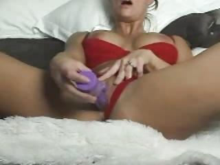 awesome blonde milf enjoys on cam