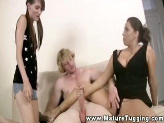 curvy elderly wacking off daughters boyfrien