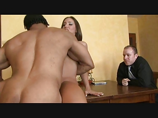 ladies cuckold 4 cougar and bbc inside front of
