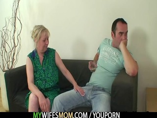 she finds him piercing her milf