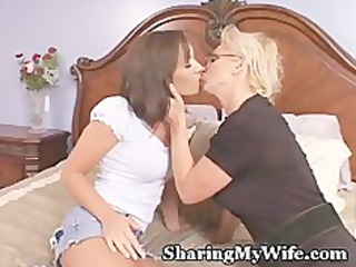 older recruits babe to share with hubby