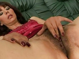 bushy grandma masturbating and obtaining pierced