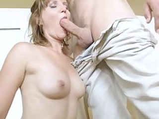 ancient sadie takes pounding by amateur stud