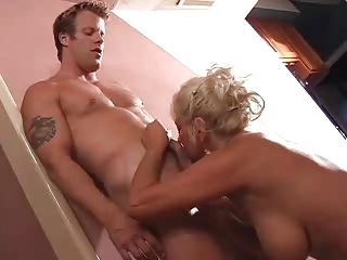 giant bossom albino grown-up fuck young guy