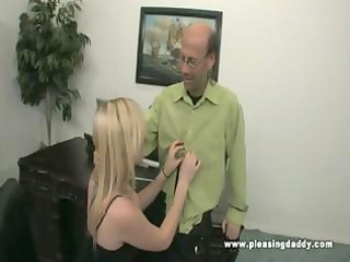 tegan bangs her mature boss