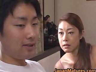 older misa tachibana rides to an orgasm part1