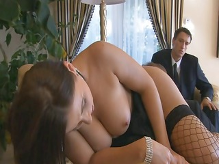brunette grown-up babe beauty, maria belluci, has