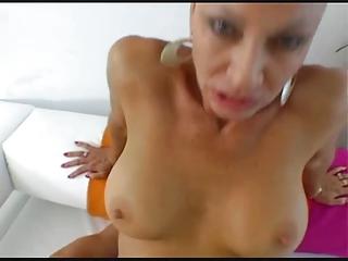 hot brunette woman