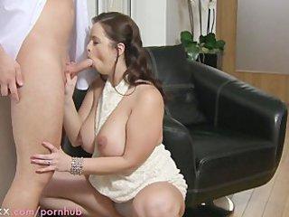 woman hd big boobed lady takes banged