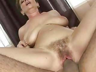 old takes her hairy cave pierced