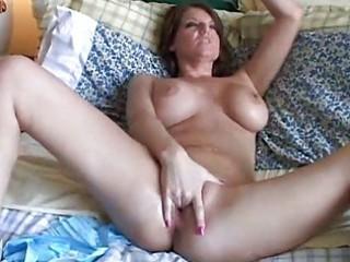 huge tits woman has a wet vagina