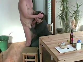 elderly licking my penis