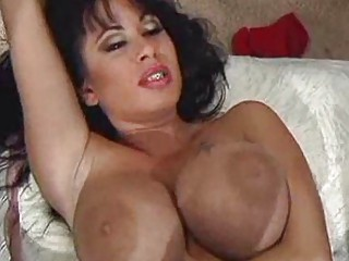 gorgeous brunette lady with big chest takes fucked